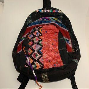 Hiptipico large backpack (RARE) Handmade Colorful